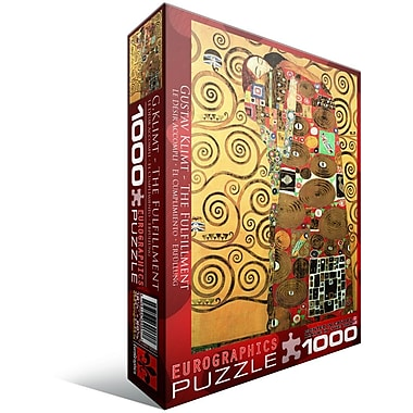 The Fulfillment by Gustav Klimt Puzzle, 1000 Pieces