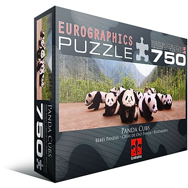 Panda Cubs Jigsaw Puzzle, 750 Pieces