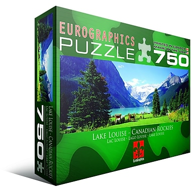 Lake Louise Jigsaw Puzzle, 750 Pieces