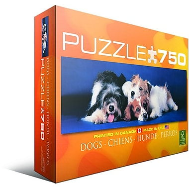 Dogs Jigsaw Puzzle, 750 Pieces