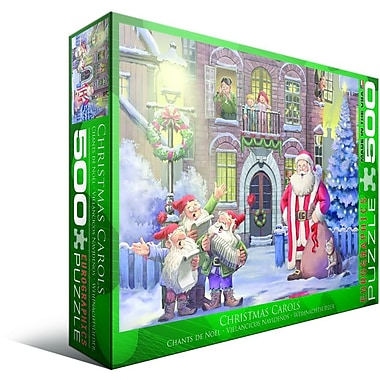Christmas Carols Puzzle, 500 Pieces