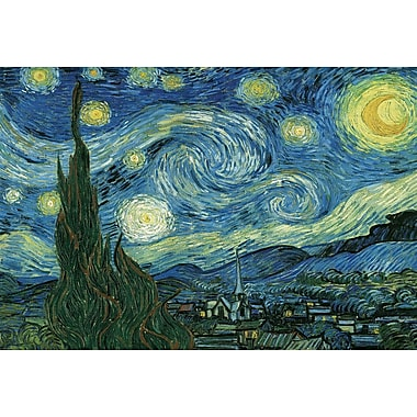 Starry Night by Vincent Van Gogh Puzzle, 2000 Pieces