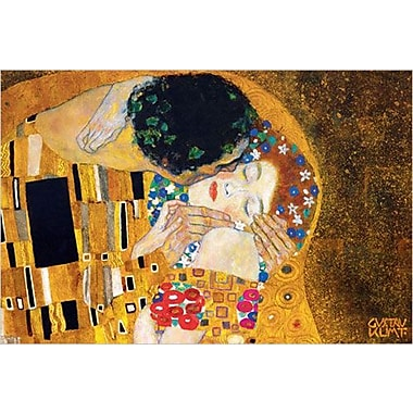 The Kiss Art Print Poster by Klimt , 24