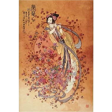 Goddess Prosperity Art Print Poster by Chinese Art, 24