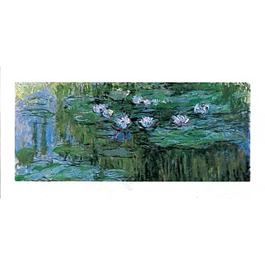 Waterlilies Art Print Poster by Monet , 31.5