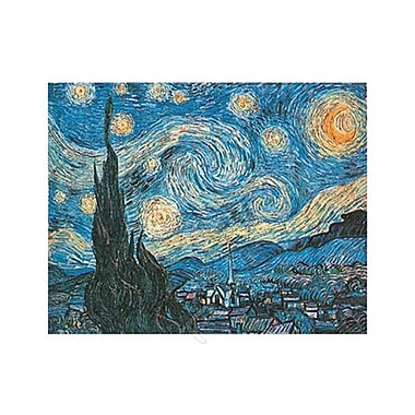 Starry Night Art Print Poster by Van Gogh , 39.5