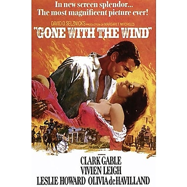 Gone with the Wind Art Print Poster, 24