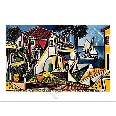 Picasso Mediterranean Landscape Art Print Poster, 23.75