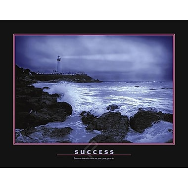 Motivational Success Poster, 23.75