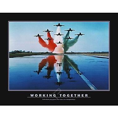 Motivational Working Together Poster, 31.5