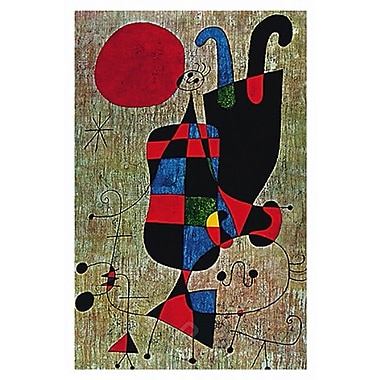 Miro People & Dog Under Sun Poster, 22