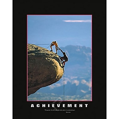 Affiche de motivation, Achievement, 24 x 36 po