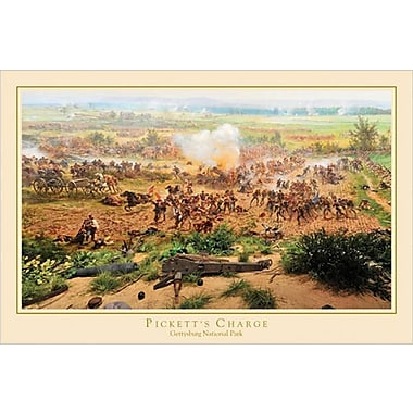Pickett's Charge Gettysburg Poster, 36