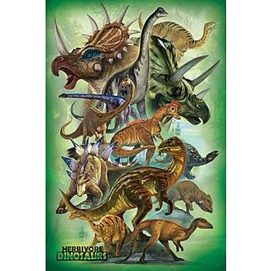 Dinosaurs - Herbivores Poster, 24