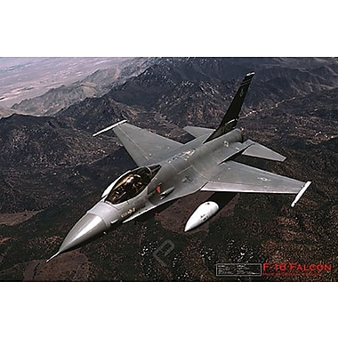 F- 16 Fighting Falcon Poster, Military Aircrafts, 24