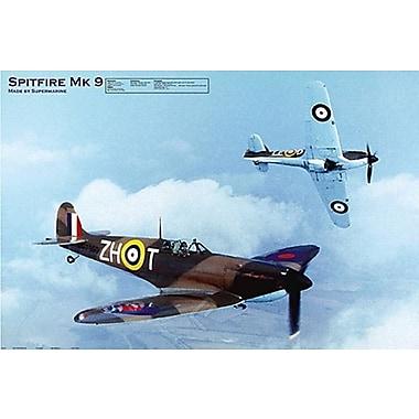 Spitfire MK 9 Poster, 24