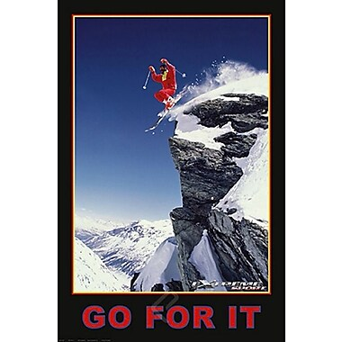 Extreme Sport - Skiing Poster, 24