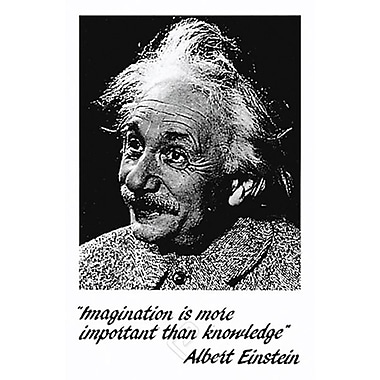 Einstein - Imagination Poster, 24