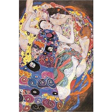 Gustav Klimt, cercles, affiche, 24 x 36 po