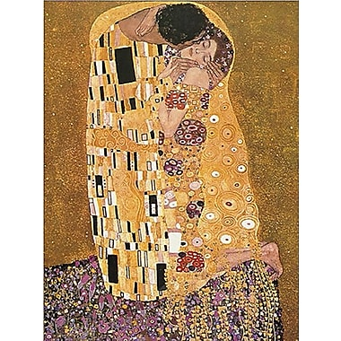 Le Baiser par Gustav Klimt, affiche, 24 x 36 po