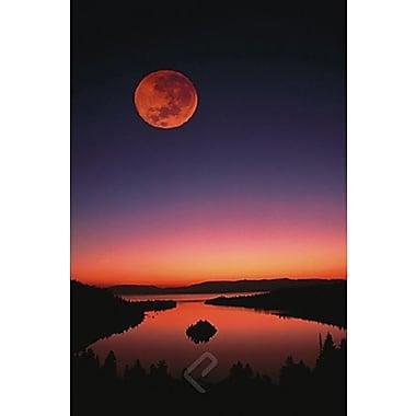 Lake Tahoe at Night Poster, 24