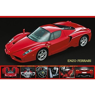 Enzo Ferrari Poster, 24