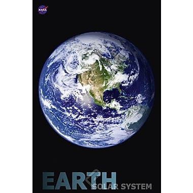 Solar System Earth Poster, 24