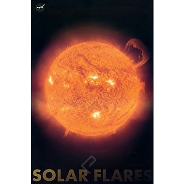 Solar Flares Poster, 24