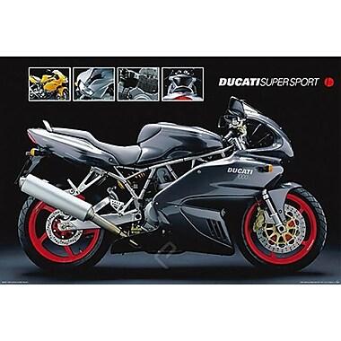 Motorcycle Ducati Super Sport Poster, 36