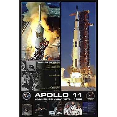 Apollo 11 Launch Poster, 24