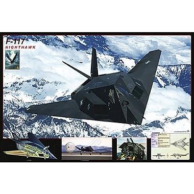 F- 117 Nighthawk Poster, 24