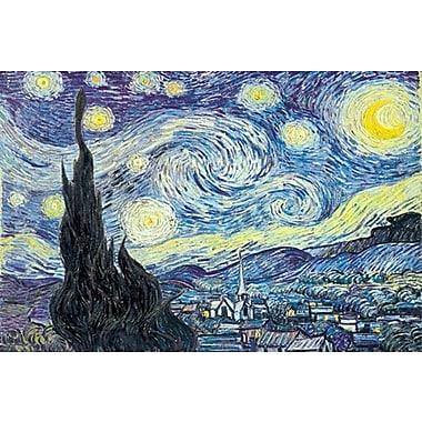 La Nuit étoilée de Van Gogh, toile, 24 x 36 po