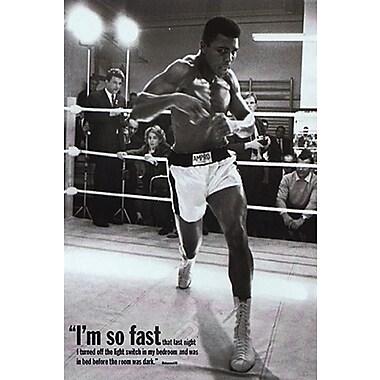 Mohammed Ali Training Poster, 24