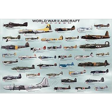 World War II Aircrafts Poster, 24