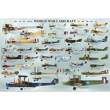 World War I Aircraft Poster, 36