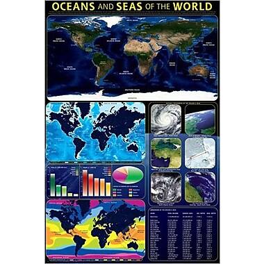 Oceans & Seas Poster, 36