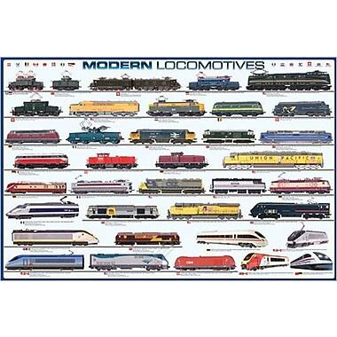 Modern Locomotives Poster, 36