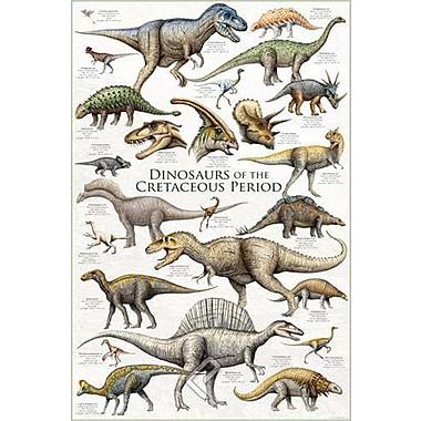 Dinosaurs - Cretaceous Period Poster, 24
