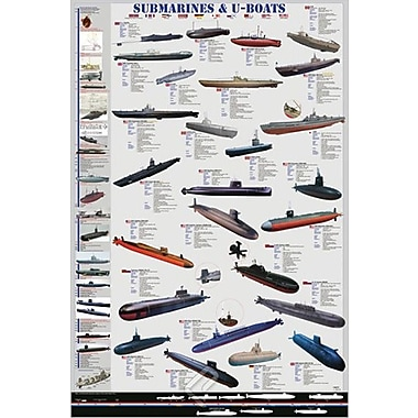 Submarines and U Boats Poster, 36