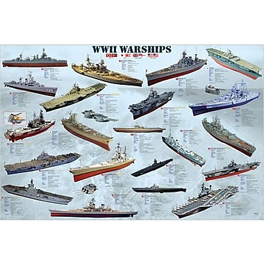 World War II War Ships Poster, 24