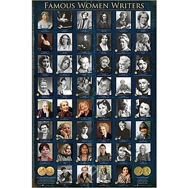 Famous Women Writers Poster, 24