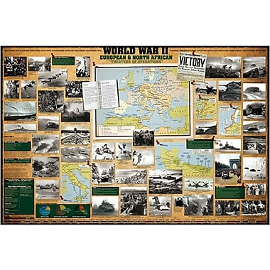 WWII European & North African Poster, 36