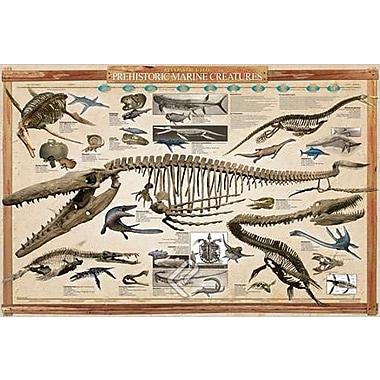 Prehistoric Marine Reconstruct Poster, 24