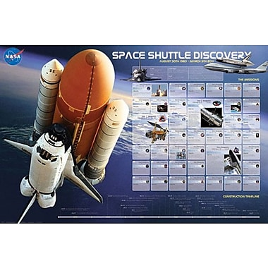 Shuttle Discovery Missions Poster, 36