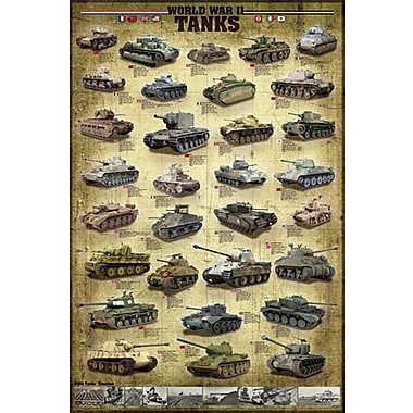 Tanks of WWII Poster, 24