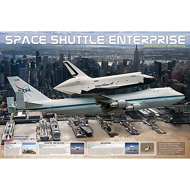 Shuttle Enterprise & Intrepid Poster, 36
