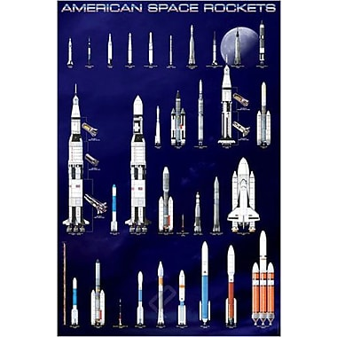American Space Rockets Poster, 24