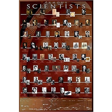 Famous Scientists Poster, 24