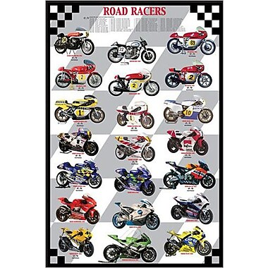 Road Racers Poster, 24