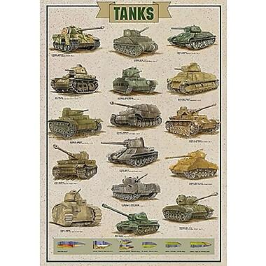 Tanks Poster, 26 3/4